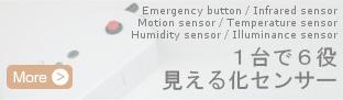 1台で6役 見える化センサー