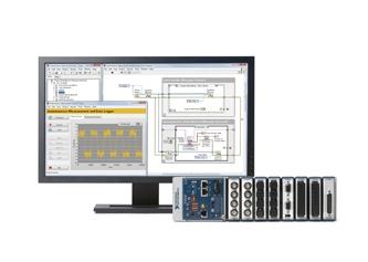 計測システムとWebアプリケーションを一括で管理しているパソコンと機器