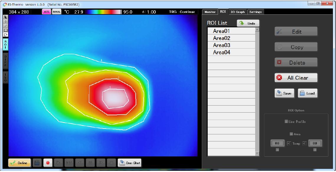 EI-Thermo 設定画面